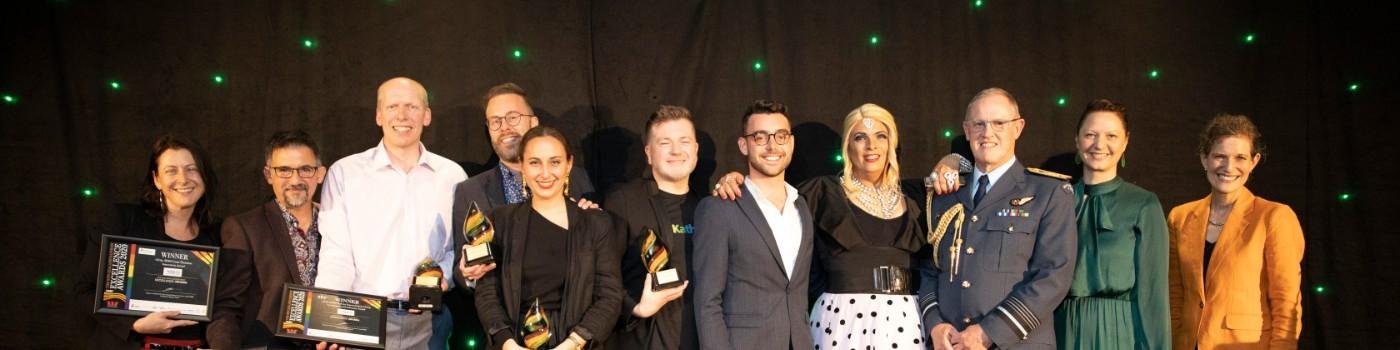 Rainbow Tick Award Winners